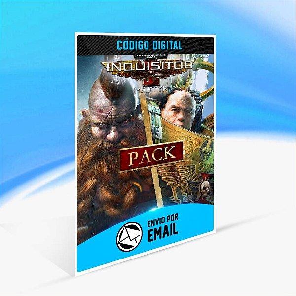 Warhammer Pack: Hack and Slash - Xbox One Código 25 Dígitos