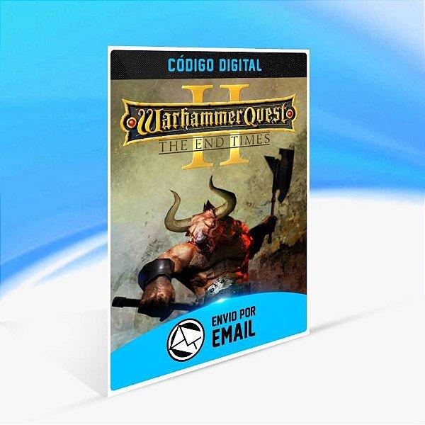 Warhammer Quest 2: The End Times - Xbox One Código 25 Dígitos