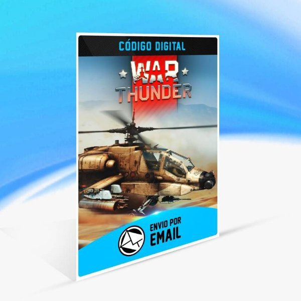 War Thunder - Apache Bundle - Xbox One Código 25 Dígitos
