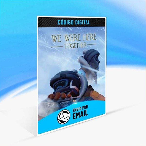 We Were Here Together - Xbox One Código 25 Dígitos