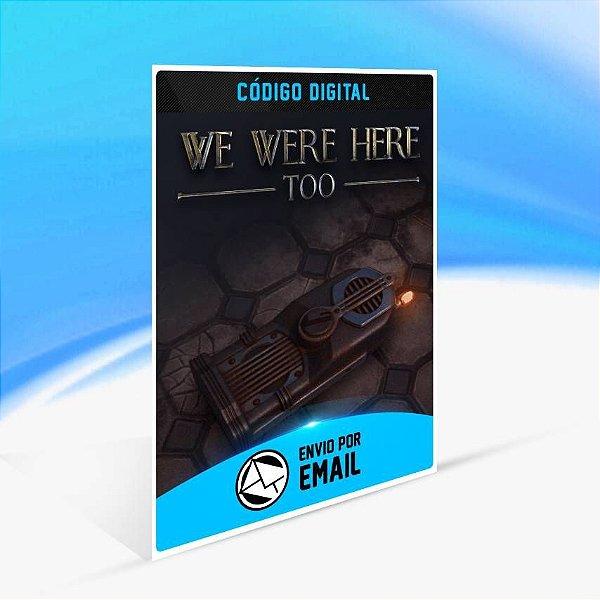 We Were Here Too - Xbox One Código 25 Dígitos