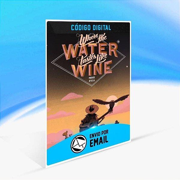 Where the Water Tastes Like Wine: Xbox Edition - Xbox One Código 25 Dígitos