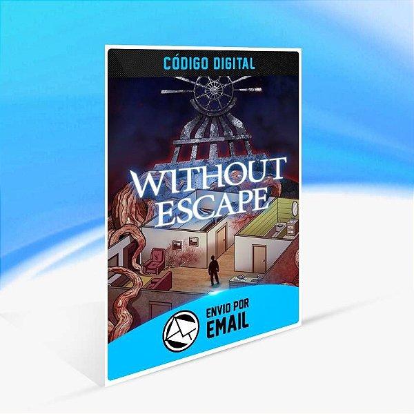Without Escape: Console Edition - Xbox One Código 25 Dígitos