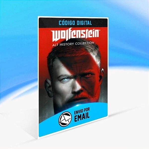 Wolfenstein: Alt History Collection - Xbox One Código 25 Dígitos