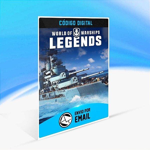 World of Warships: Legends – Aço Alemão - Xbox One Código 25 Dígitos