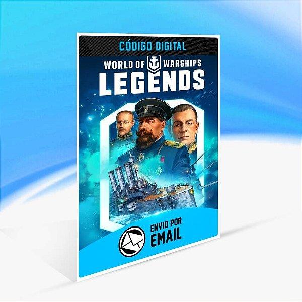 World of Warships: Legends - Encouraçado de Bolso - Xbox One Código 25 Dígitos