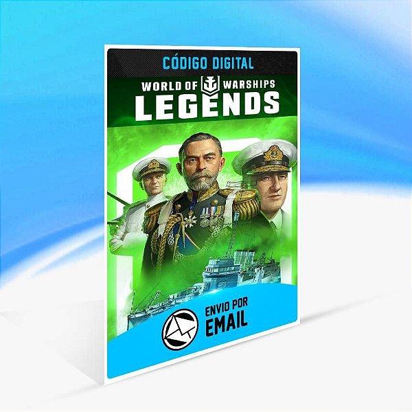 World of Warships: Legends — Incursor Lend-Lease - Xbox One Código 25 Dígitos