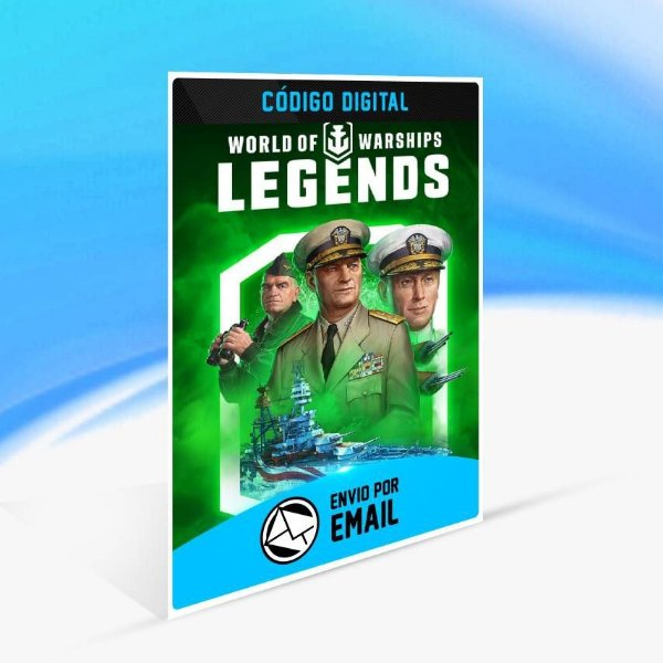World of Warships: Legends — Poder da Independência - Xbox One Código 25 Dígitos