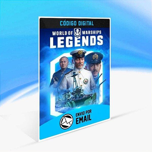 World of Warships: Legends — Tufão Iwaki - Xbox One Código 25 Dígitos
