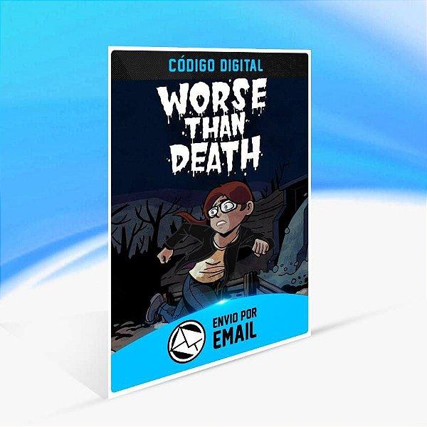 Worse Than Death - Xbox One Código 25 Dígitos