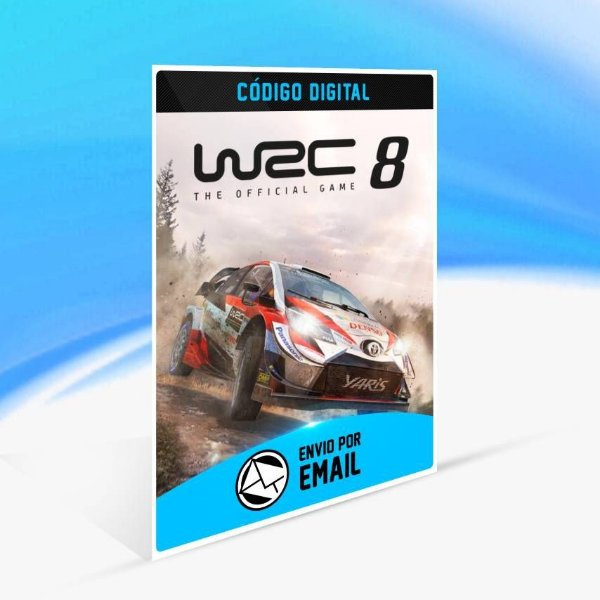 WRC 8 FIA World Rally Championship - Xbox One Código 25 Dígitos