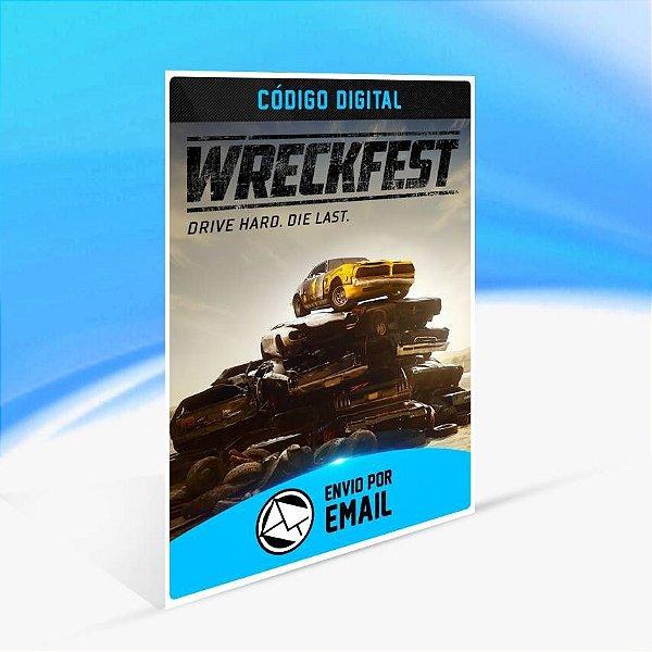 Wreckfest - Xbox One Código 25 Dígitos