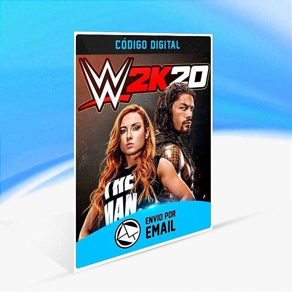 WWE 2K20 - Xbox One Código 25 Dígitos