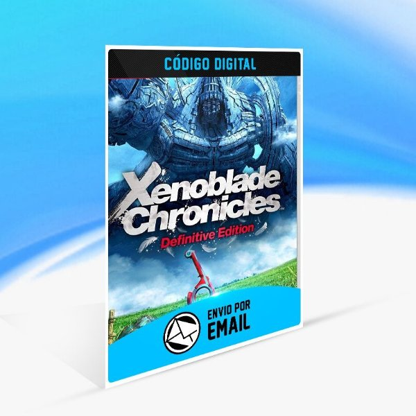 Xenoblade Chronicles Definitive Edition - Nintendo Switch Código 16 Dígitos