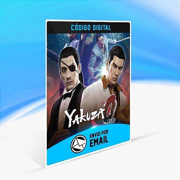 Yakuza 0 - Xbox One Código 25 Dígitos