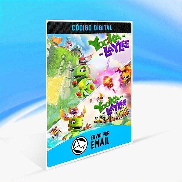 Yooka-Laylee: Buddy Duo Bundle - Xbox One Código 25 Dígitos