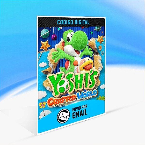Yoshi's Crafted World - Nintendo Switch Código 16 Dígitos