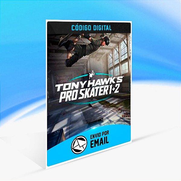 Tony Hawk's Pro Skater 1 + 2 - Xbox One Código 25 Dígitos