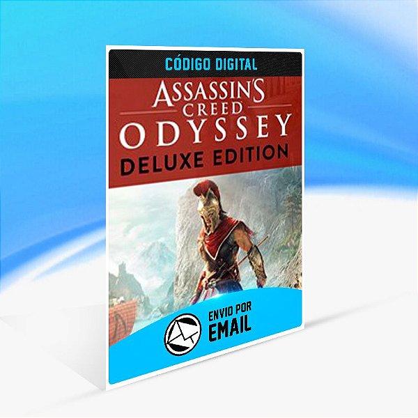 Assassin's Creed Odyssey - EDIÇÃO DELUXE - Xbox One Código 25 Dígitos