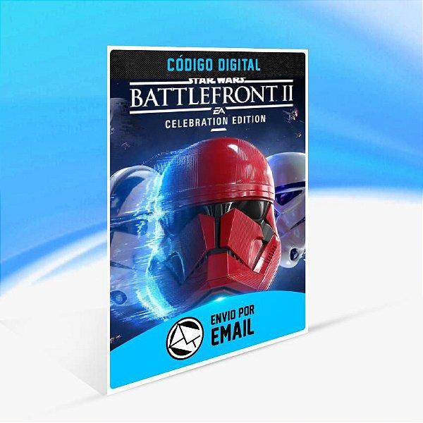 STAR WARS Battlefront II: Celebration Edition - Atualização ORIGIN - PC KEY