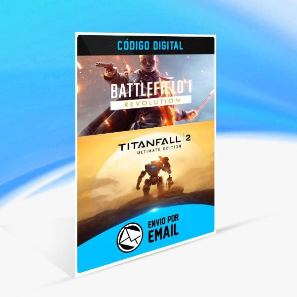 Battlefield 1 e Titanfall 2 Conjunto Ultimate ORIGIN - PC KEY