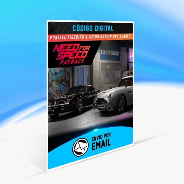 Need for Speed Payback: Bundle Pontiac Firebird & Aston Martin DB5 Superbuild ORIGIN - PC KEY