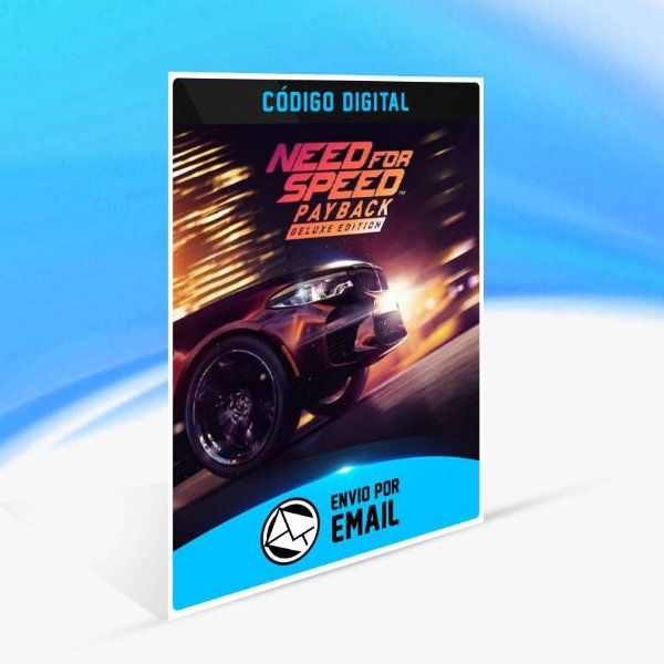 Need for Speed Payback - Deluxe Edition Upgrade ORIGIN - PC KEY