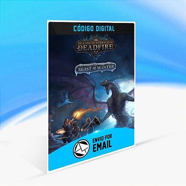 Pillars of Eternity II: Deadfire Beast of Winter ORIGIN - PC KEY