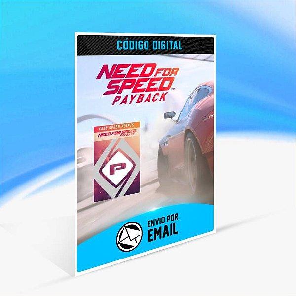 NFS Payback - 4.600 Speedpoints ORIGIN - PC KEY