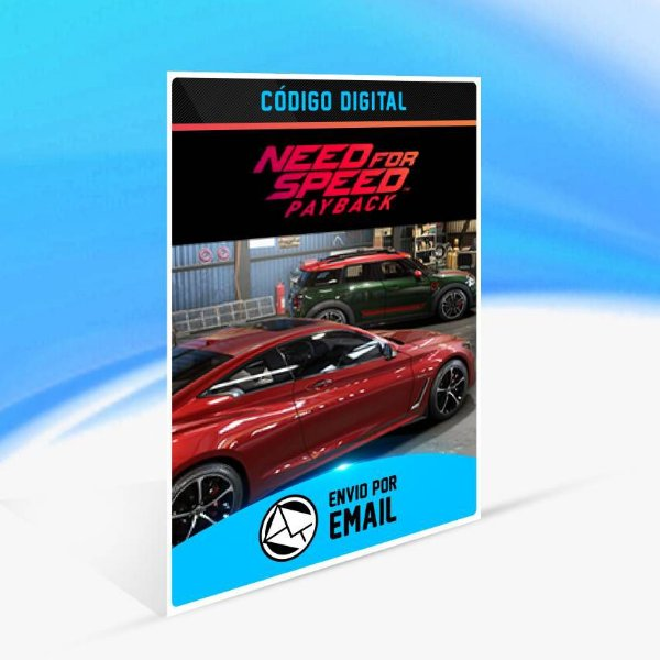 Need for Speed Payback: MINI John Cooper Works Countryman e INFINITI Q60 S Bundle ORIGIN - PC KEY