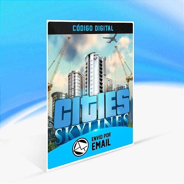 Cities: Skylines - Edição Standard ORIGIN - PC KEY