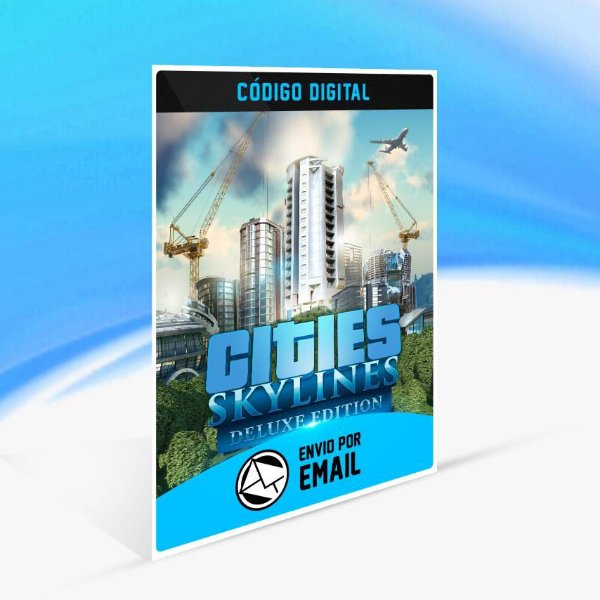 Cities: Skylines Deluxe Edition STEAM - PC KEY