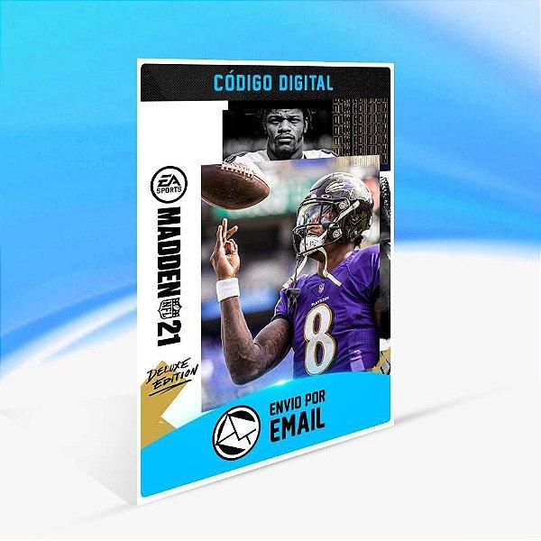 Madden NFL 21 - Edição Deluxe ORIGIN - PC KEY