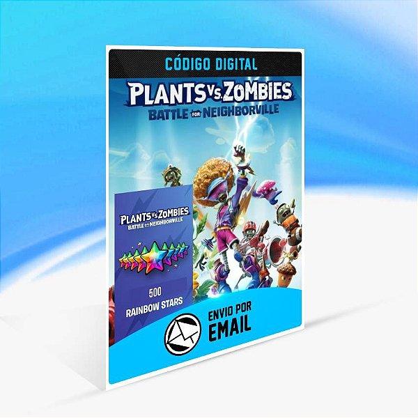 Plants vs. Zombies: Batalha por Neighborville - 500 Estrelas Arco-íris ORIGIN - PC KEY ORIGIN - PC KEY