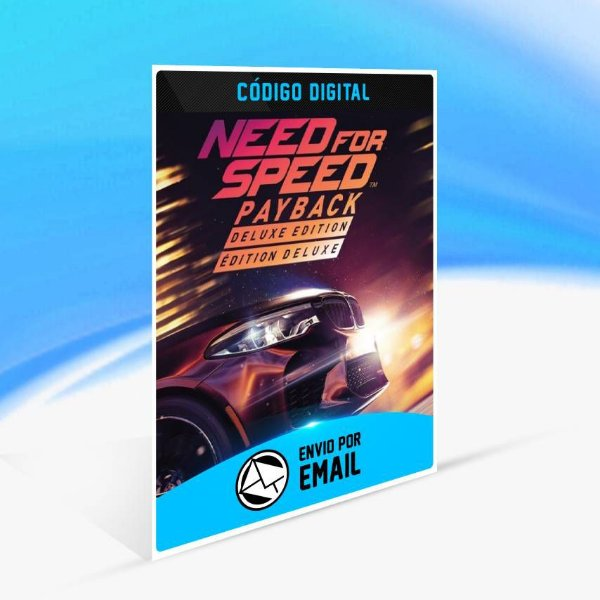 Need for Speed Payback - Edição Deluxe ORIGIN - PC KEY