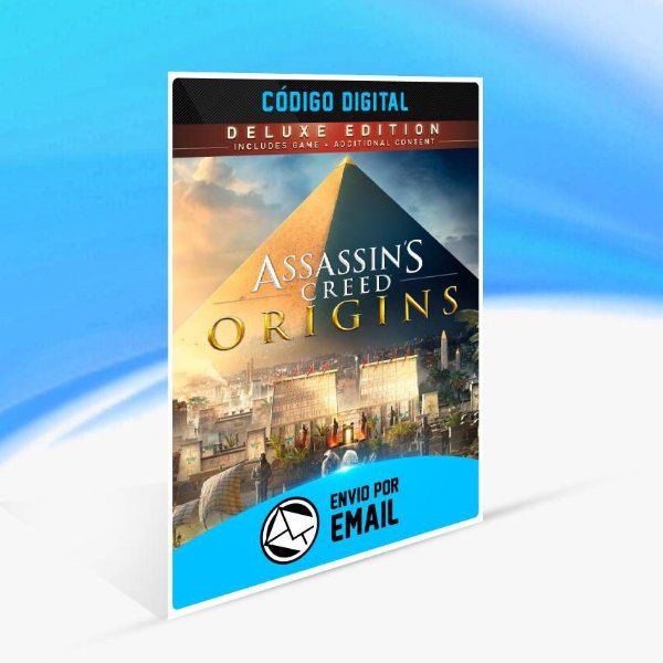 Assassin's Creed Origins - Edição Deluxe ORIGIN - PC KEY