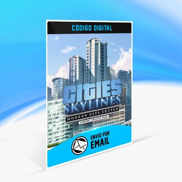 Cities: Skylines - Content Creator Pack: Modern City ORIGIN - PC KEY