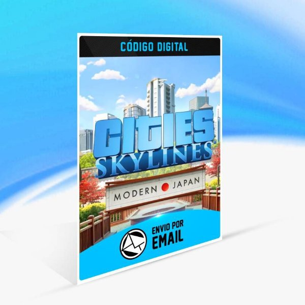 Cities: Skylines - Content Creator Pack: Modern Japan ORIGIN - PC KEY