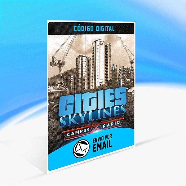 Cities: Skylines - Campus Rock Radio ORIGIN - PC KEY
