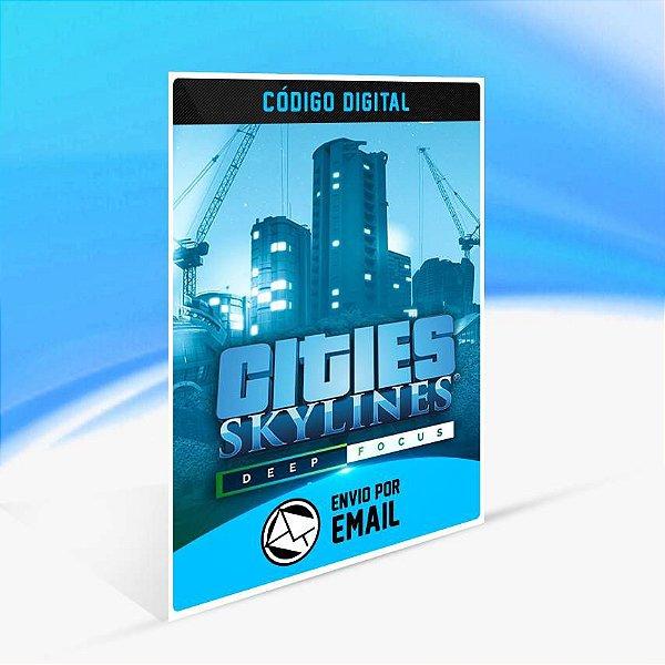 Cities: Skylines - Deep Focus Radio ORIGIN - PC KEY