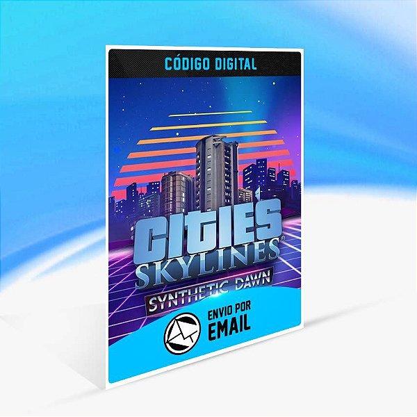 Cities: Skylines - Synthetic Dawn Radio ORIGIN - PC KEY
