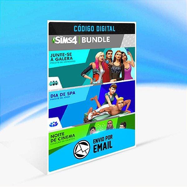 The Sims 4 Bundle - Junte-se à Galera, Dia de Spa e Noite de Cinema Coleção de Objetos ORIGIN - PC KEY