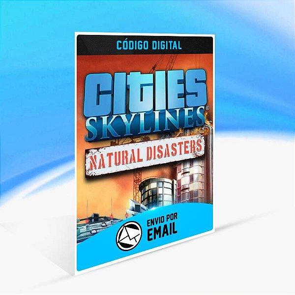 Cities: Skylines - Natural Disasters ORIGIN - PC KEY