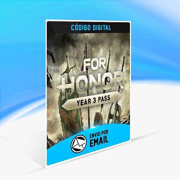 Passe do Ano 3 para For Honor ORIGIN - PC KEY