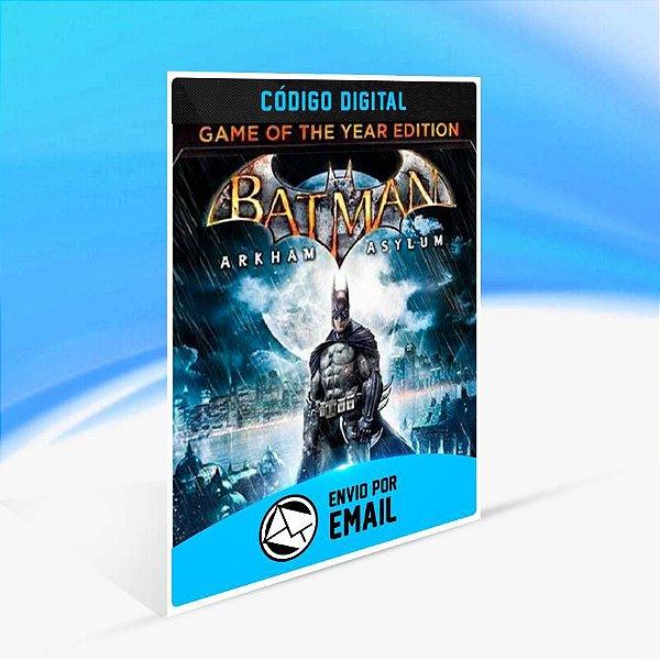 Batman: Arkham Asylum Game of the Year Edition ORIGIN - PC KEY