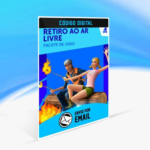 The Sims 4 Retiro ao Ar Livre ORIGIN - PC KEY