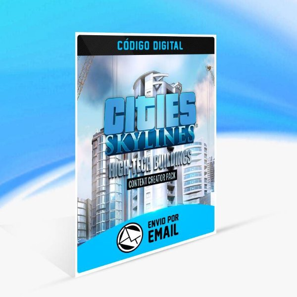 Cities: Skylines - Content Creator Pack: High-Tech Buildings ORIGIN - PC KEY