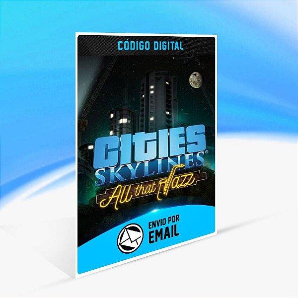 Cities: Skylines - All That Jazz ORIGIN - PC KEY
