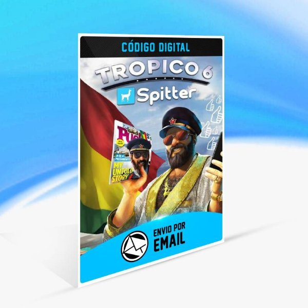 Tropico 6 - Spitter DLC ORIGIN - PC KEY