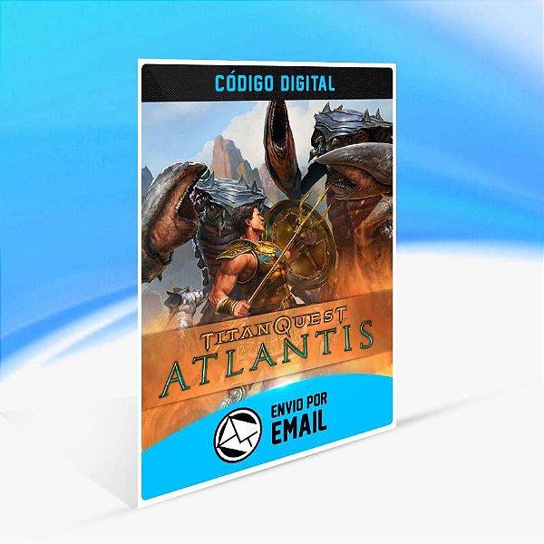 Titan Quest Anniversary: Atlantis ORIGIN - PC KEY